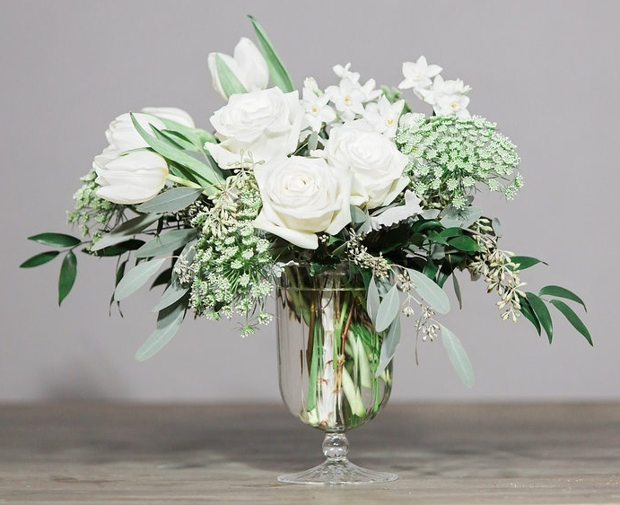 """Sugar Loaf"" in the April Vase is a wonderful arrangement to send to a friend or partner, ""just because."""