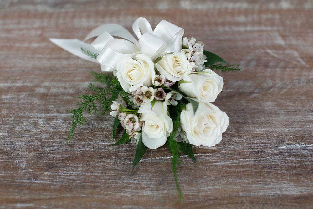 Spray Rose- White $35