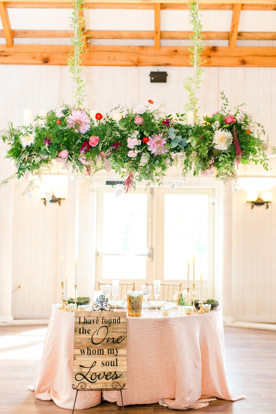 Sweetheart Table: Flowers and Decor — J. Morris Flowers