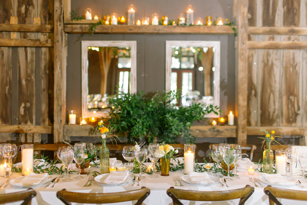 Head table at    Riverside on the Potomac    near Leesburg, Virginia photographed by    Sarah Beth Photography   .