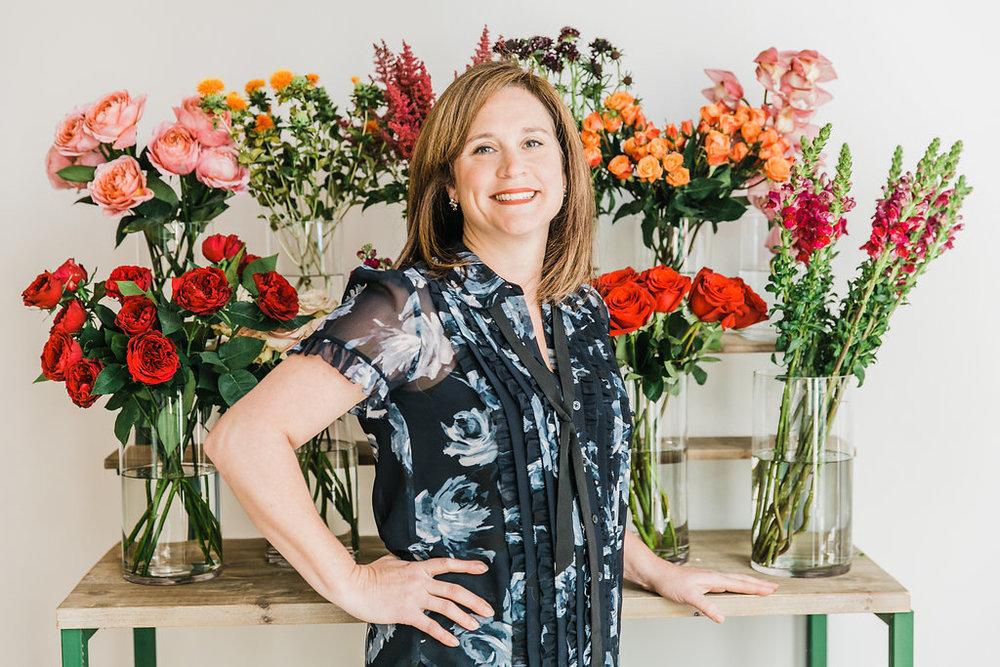 Jennifer Morris, J. Morris Flowers