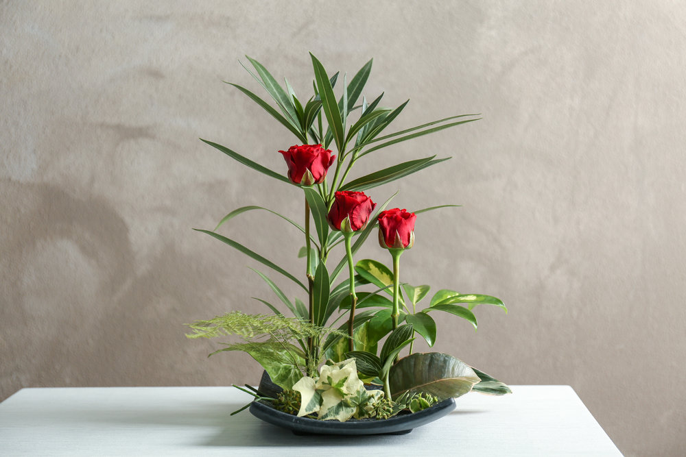 Source:   nellhazinski.com , https://www.top13.net/ikebana_arrangements/