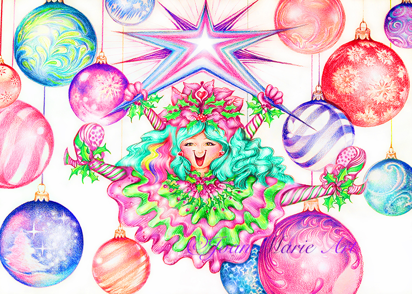1a. Christmas Happee Girl!