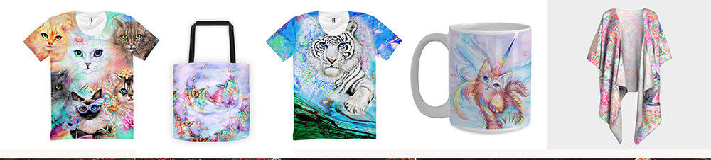 ENJOY!! ...My Art on Clothing!..... CELEBRATE COLOR!