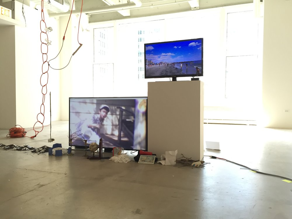 Install view, Abandoned Practices, SAIC, 2016