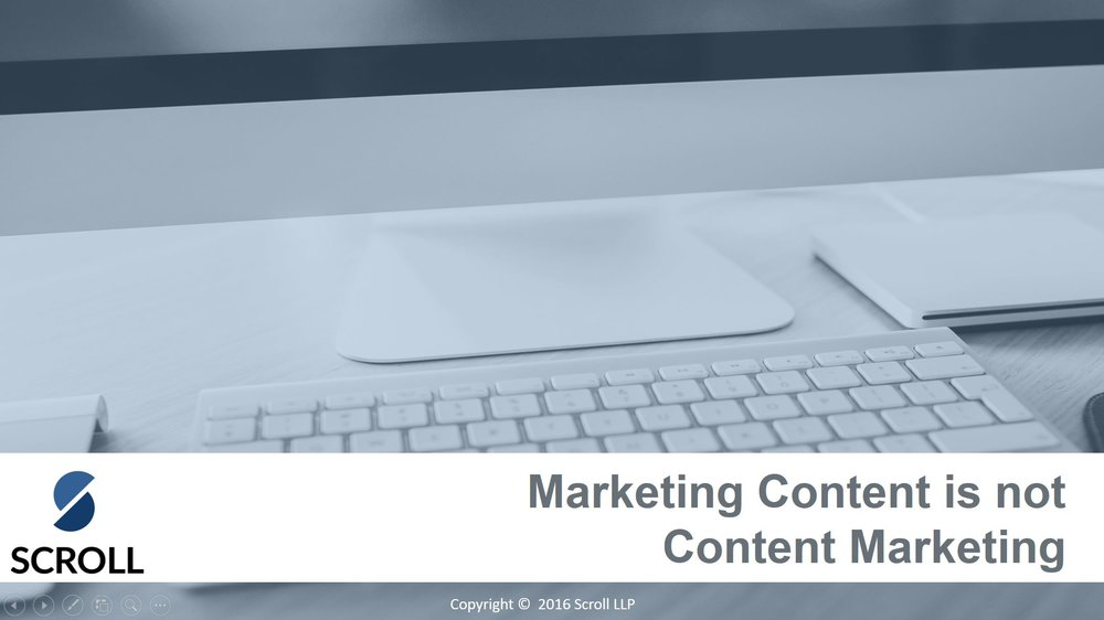 Marketing content is not content marketing.JPG