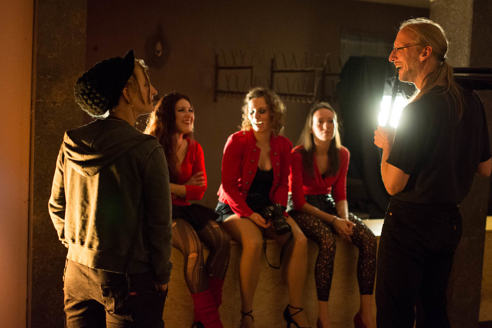 scaramouche singers & lydia & DoP dante.