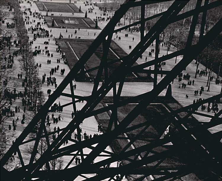 Champ de Mars, Vu de la Tour Eiffel .