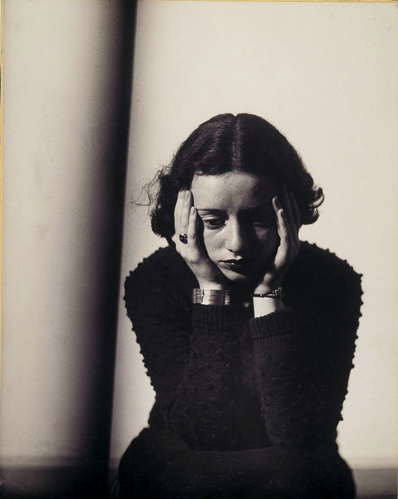 Portrait Composition,  circa 1935.