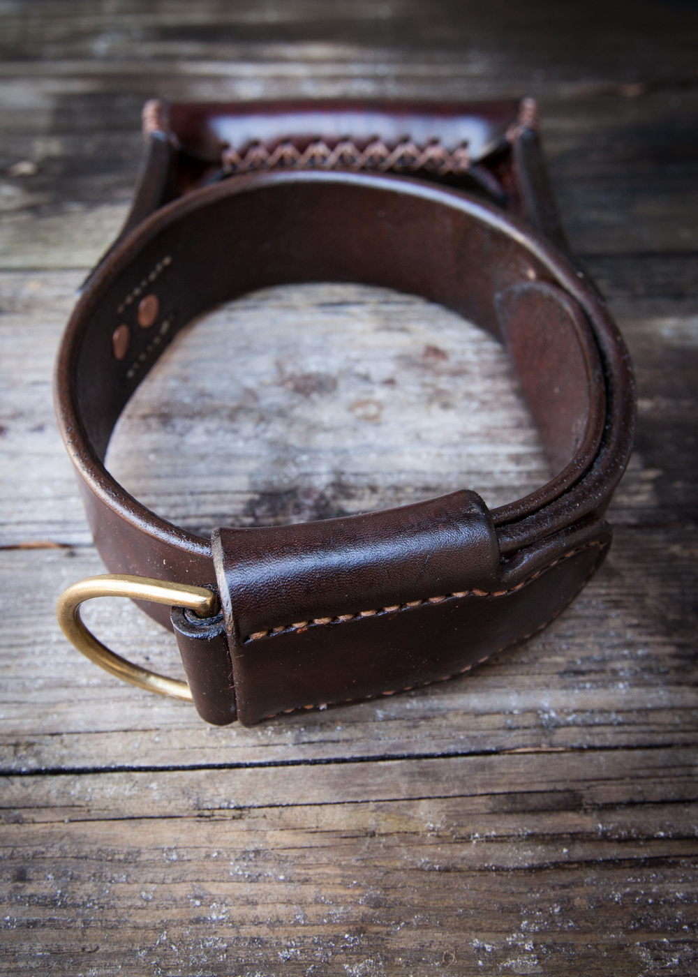 Two Fools Leather Goods, Seeing Eye Dog Collar 3