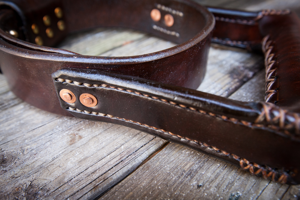 Two Fools Leather Goods, Seeing Eye Dog Collar 6