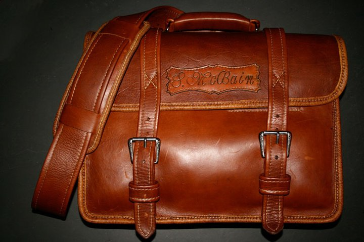 twofoolsleathergoods custom brief case