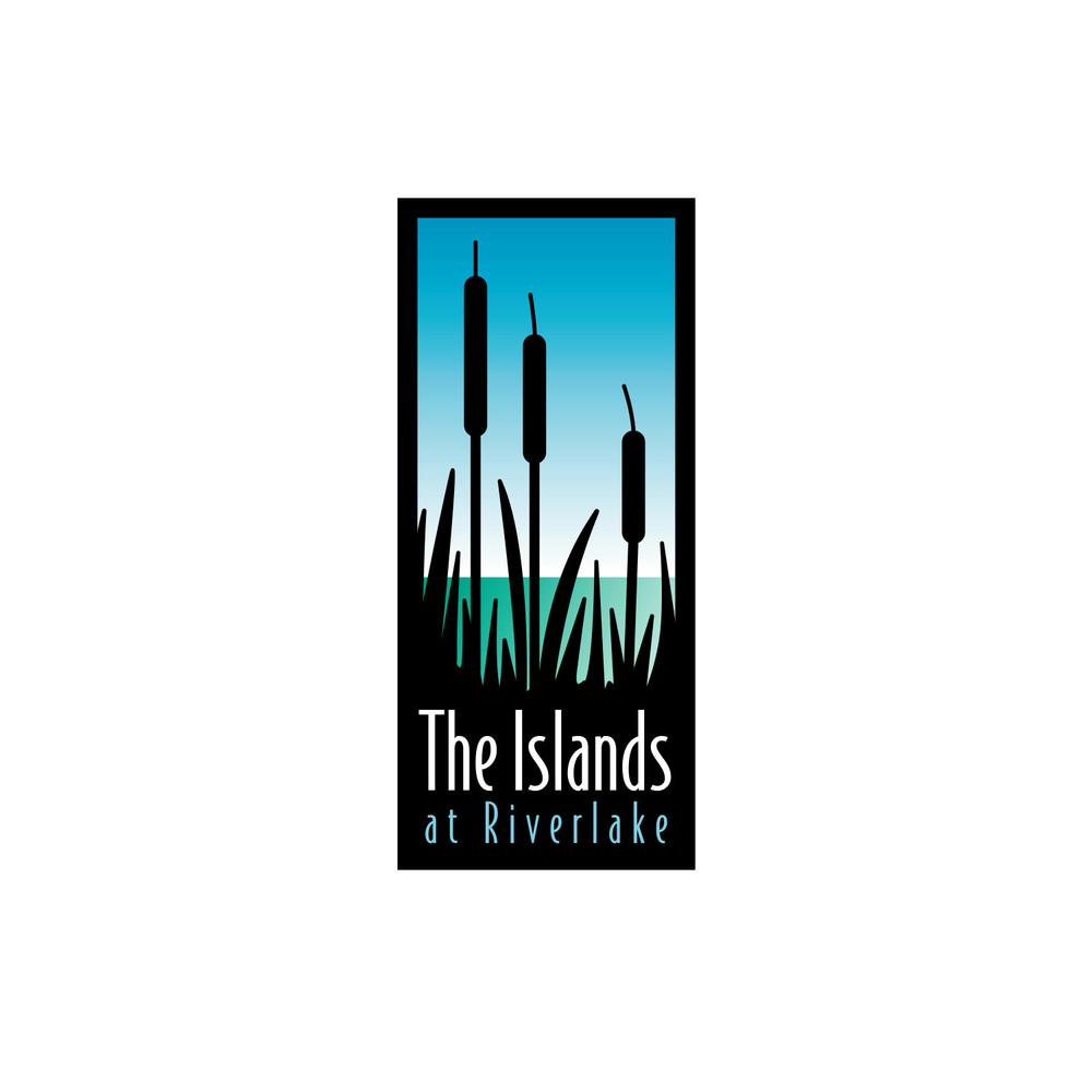 The Islands at Riverlake Logo Design