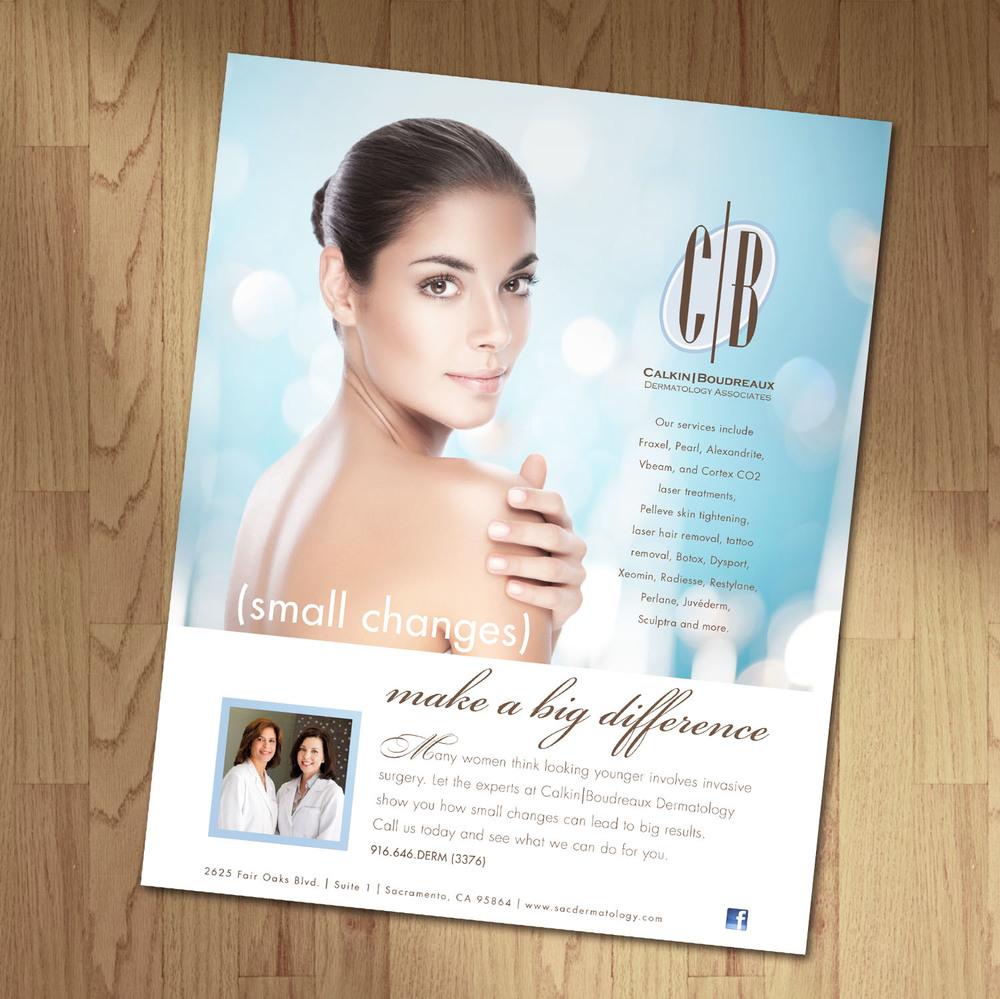 Calkin Ad Design