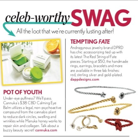 The String of Fate collection featured in this weeks Life & Style 🙌🏻 @lifeandstyleweekly