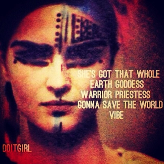 """She's got that whole earth goddess, warrior priestess, gonna save the world vibe."" –uh wow that feels pretty damn close to how I feel…I wanna be a vehicle for change on whatever level I can. I strongly hold my #environmental and #beauty #ethics in hand and have a badass sense of #spirituality that's only going to grow the more I learn and experience and travel. Here's to bringing out the #warrior #priestess in me!                                  I also wanna let you guys know that Urban Minerals is on sale right now 20% off! That's right! Head to modernalternativemama.com for the coupon code and get your perfect shade for spring at  www.urbanminerals.ca !  Urban Minerals is (kickass) mineral makeup with soul!"
