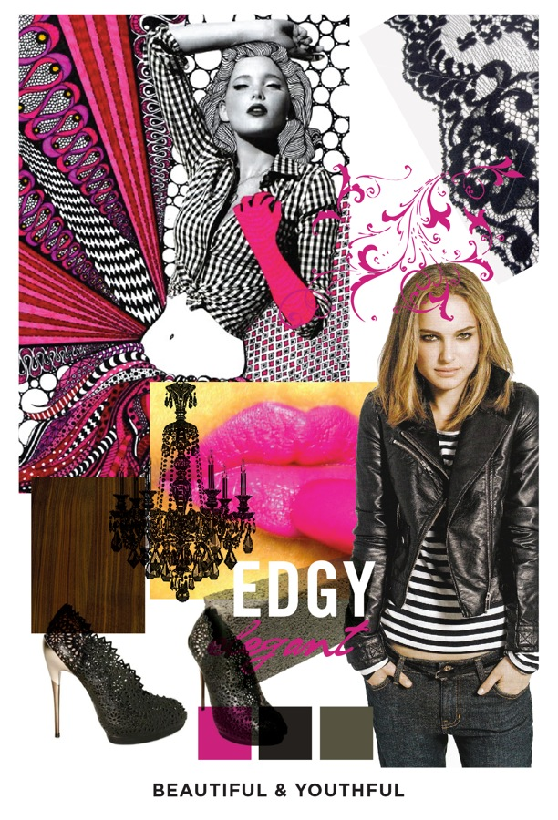 Mood Boards!     The first steps on the road to branding is a good mood board.  We started out with the words   conscious, organic, beautiful, youthful and earth connected.          From those 5 ideals, two boards surfaced that made the most sense.  I love all things urban and wanted and still want the brand to represent that so here is the first of 2.