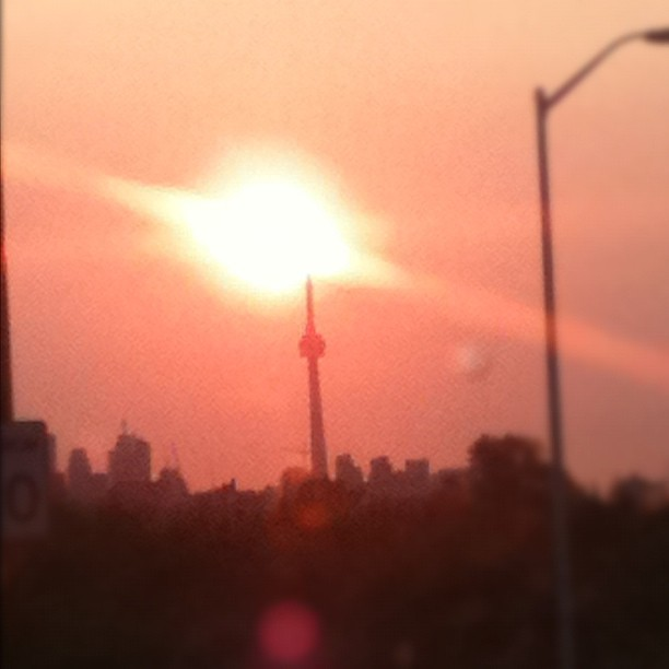 Goodmorning Toronto, have a wonderful, productive day! (Taken with  Instagram )