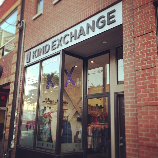 Finally bought my dress for the launch at this wonderful establishment. I will absolutely be going back to @thekindexchange