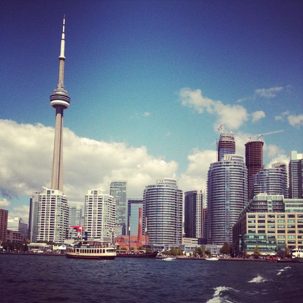 I can't help it, I love my city. I'm a #torontogirl. #multiculturalism is my game .-.