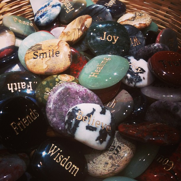 A wishing stone of your choice :) #bigcarrot #rockstore