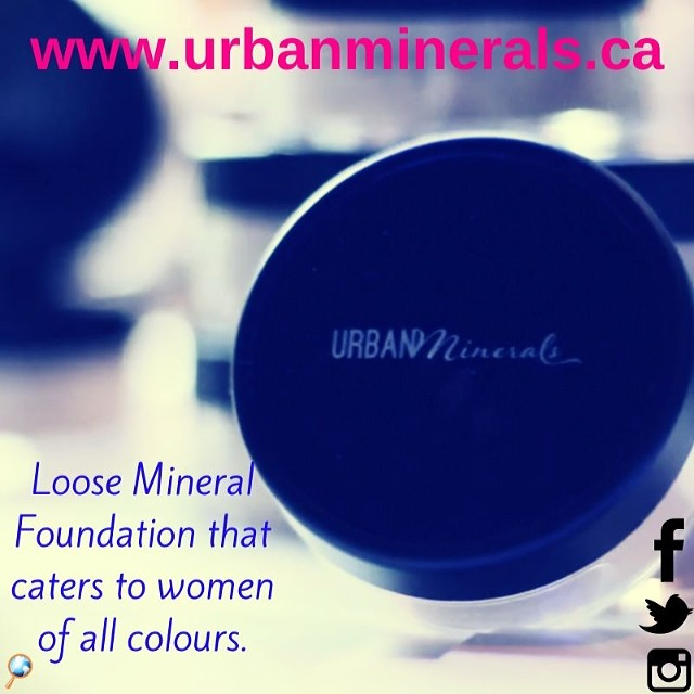 #urbanminerals is a line of loose #mineral #foundation that caters to women of all beautiful colours! Check it out today! Www.urbanminerals.ca - you won't regret finding your perfect shade that also reps natural and organic ingredients to soothe and protect the skin. Xoxo #mineralmakeupwithsoul