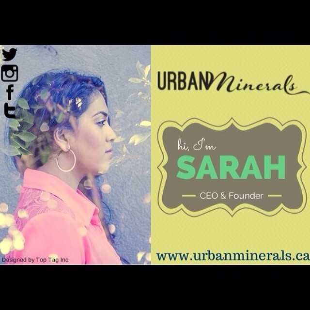 Hi I'm Sarah, CEO & Founder at Urban Minerals. #welcometomyhumbleabode