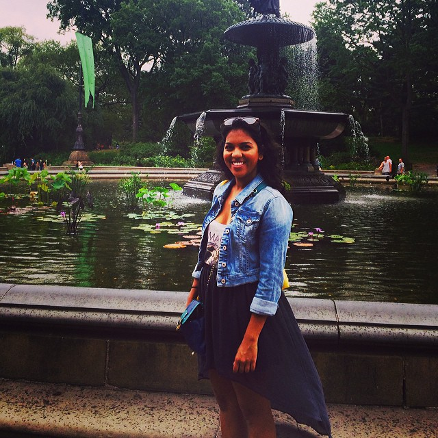 Going back to that day I walked from #columbuscircle to #Harlem thru #centralpark. Was so beautiful and Misty that day and I found all the cutest little hidden away spots :) so #blessed!