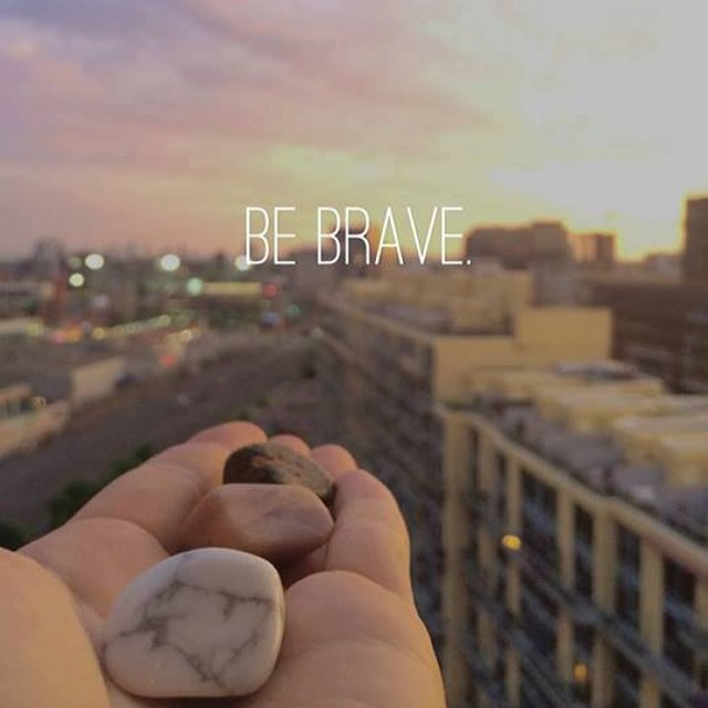 If you can do anything you put your mind to, then wouldn't you want to go for your dreams? Be Brave my friend! #bebrave #ibelieveinyou!