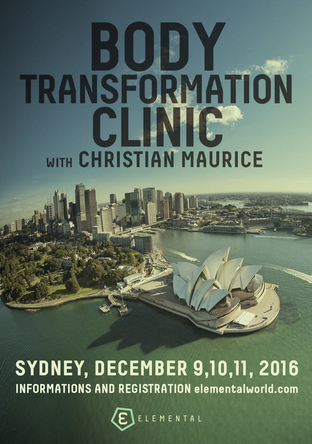 Christian Maurice Body Transformation Seminar