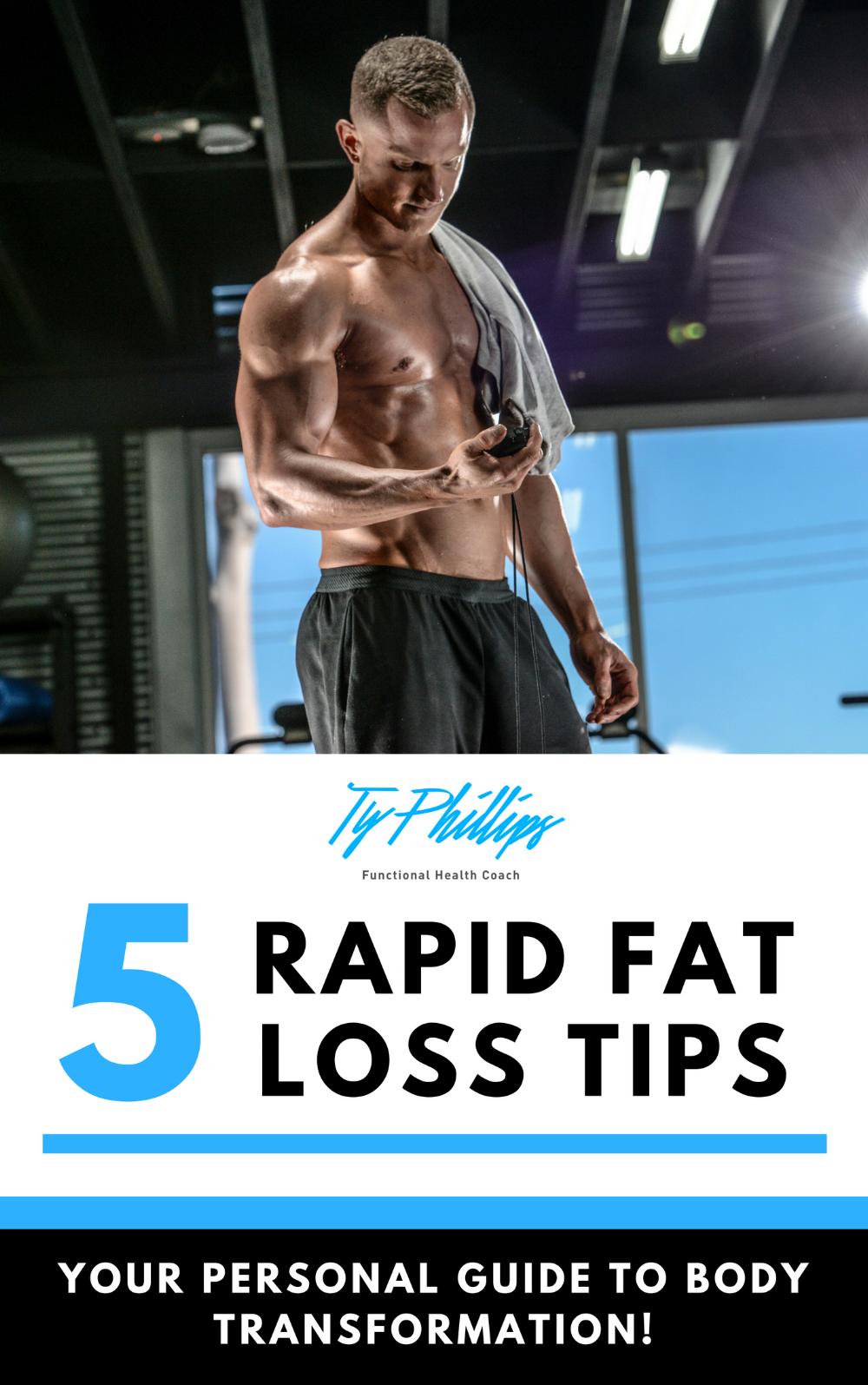 Free Rapid Fat Loss Tips Ebook