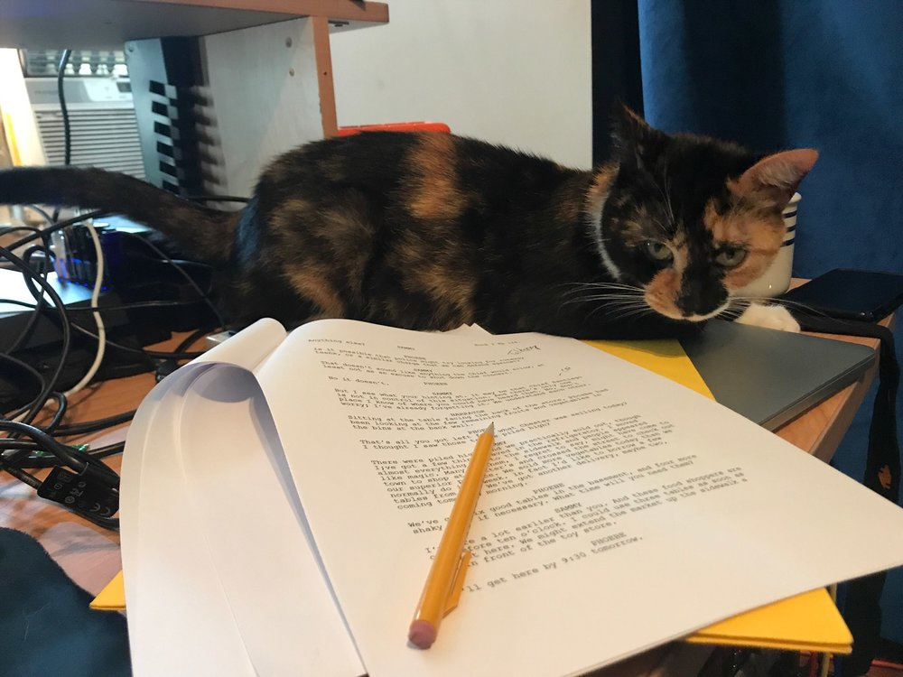 Xena and the Podcast Script