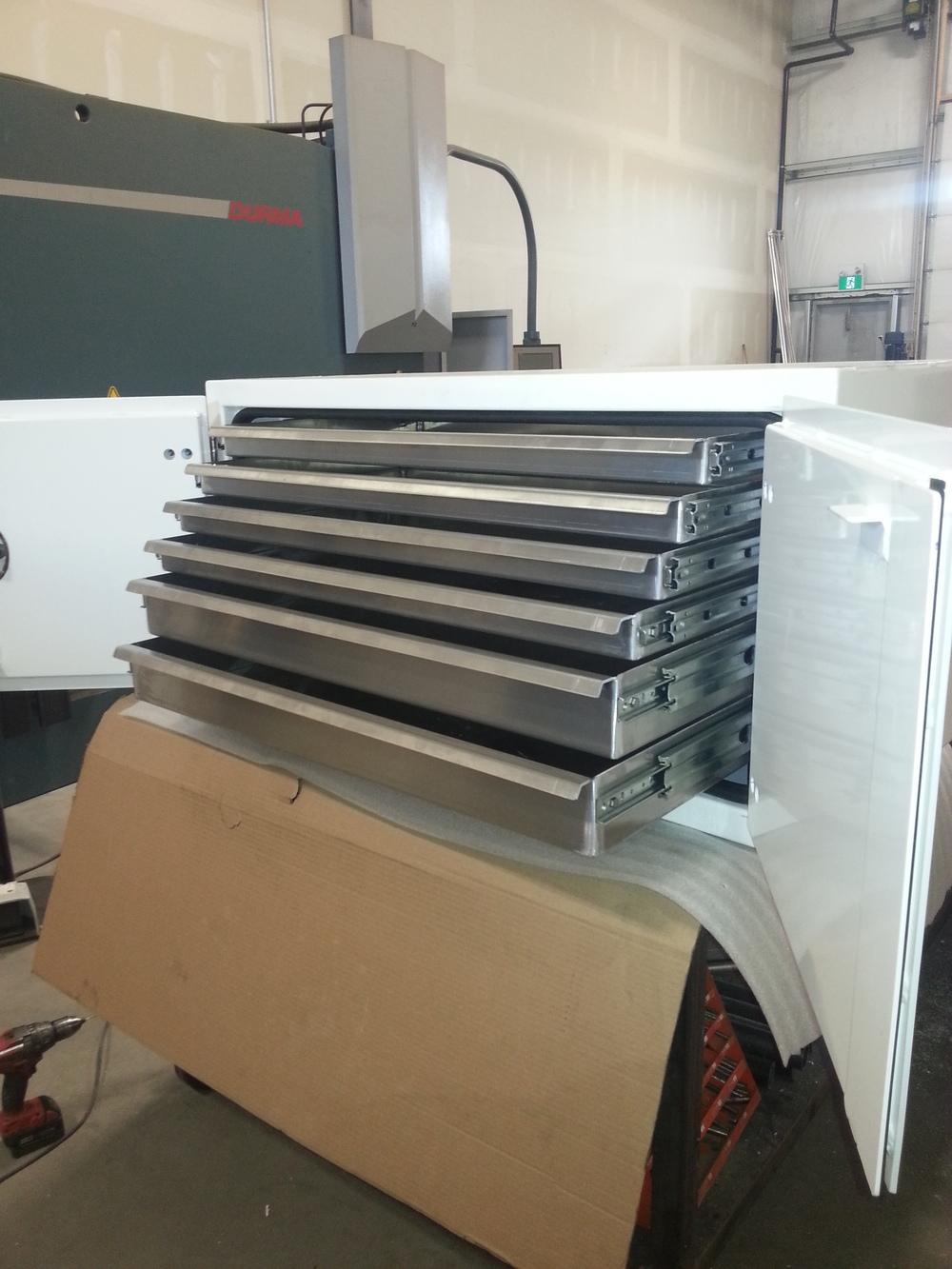 6 Drawer Aluminum Box