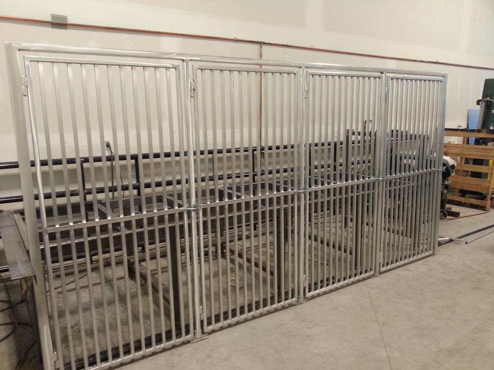 Dog Kennel Gates