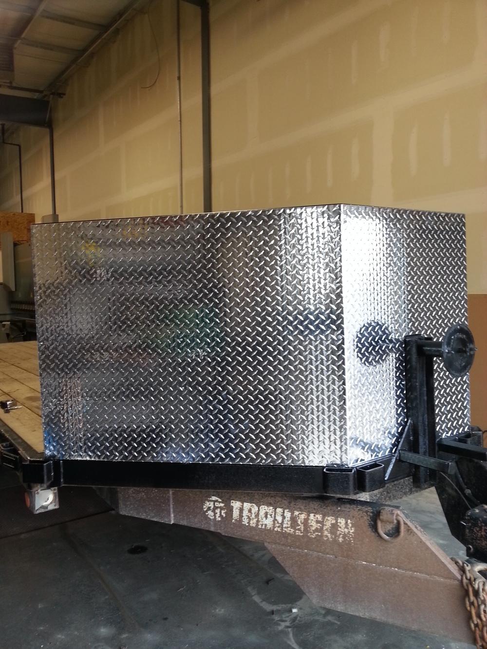 Aluminum Trailer Front
