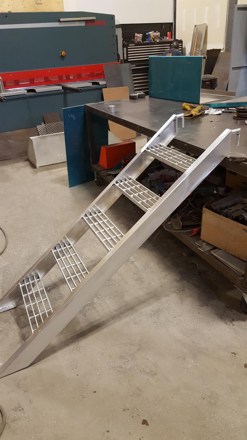 Aluminum Stairs