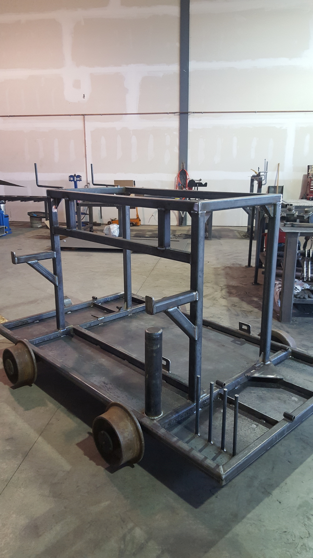 CP Rail Hydraulic Equipment Cart
