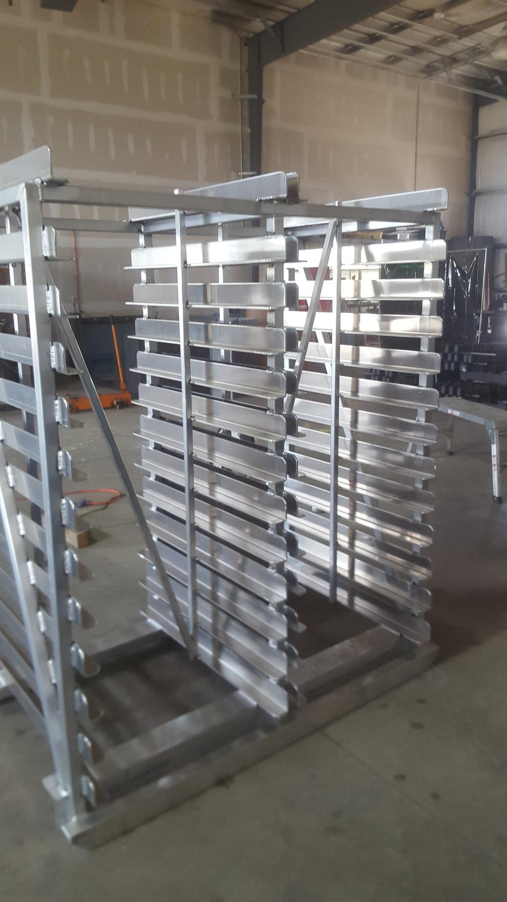 Custom Tray Rack