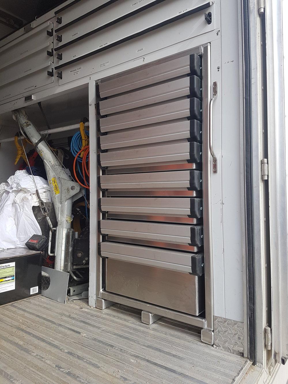 Aluminum Tool Cabinet