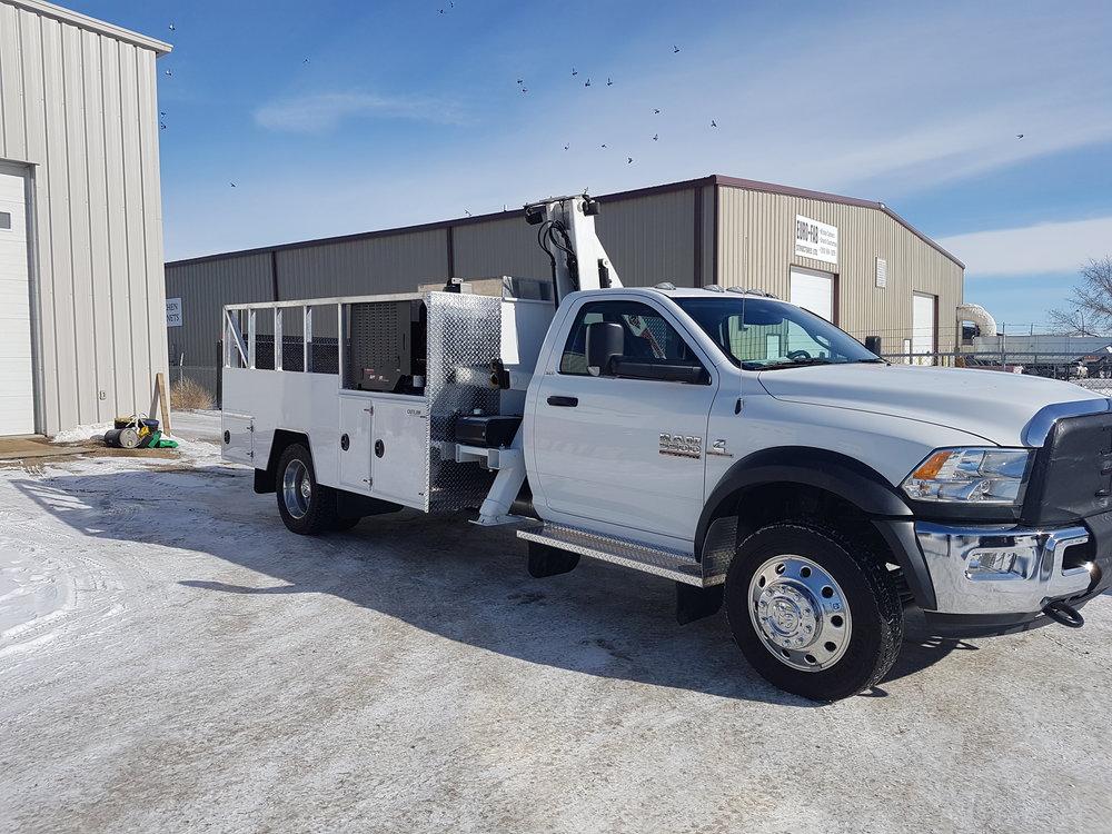 Custom Tire Truck