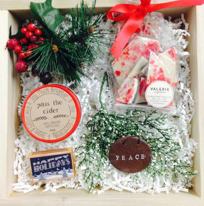 Handmade holiday gift basket available for pre-order