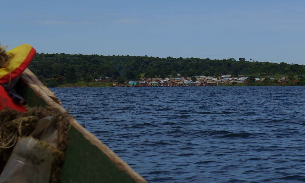 On approach to Myende Island.