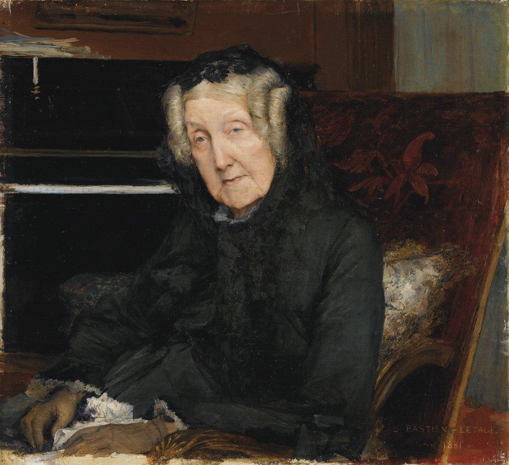 Portrait of Mme. Waskiewicz
