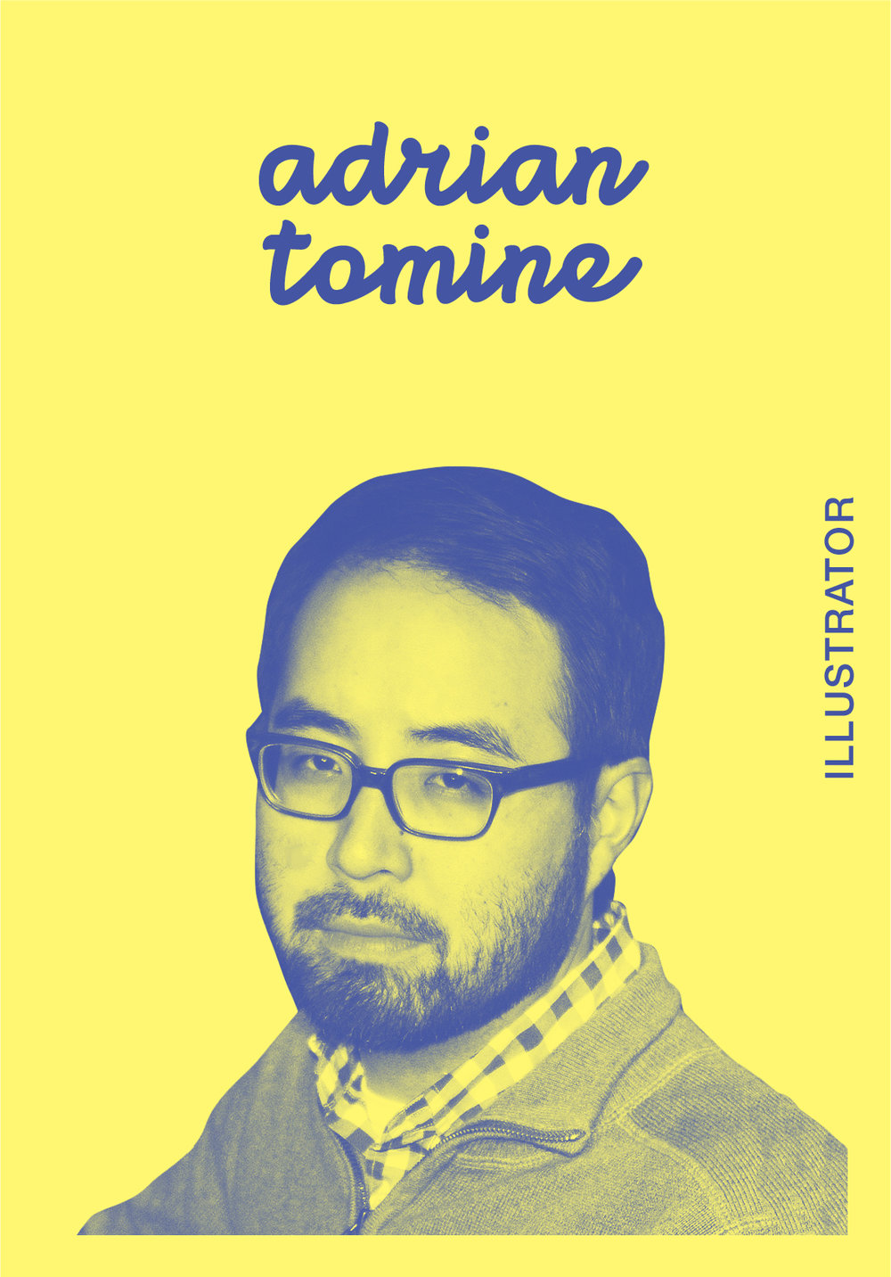 Adrian Tomine   WEBSITE   IG: ADRIANTOMINE