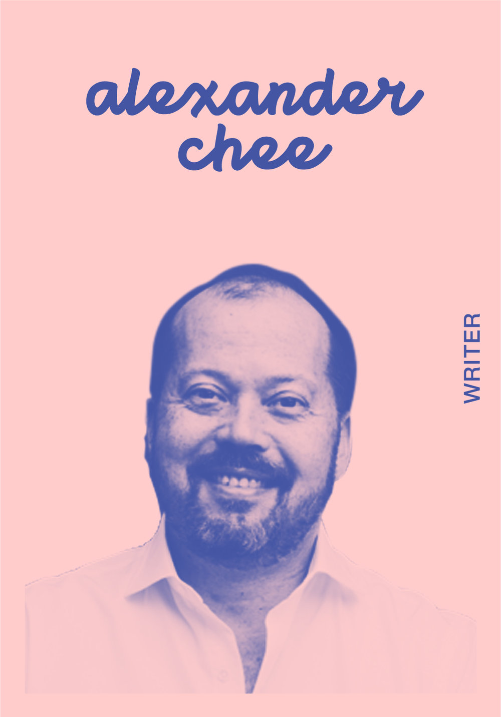 ALEXANDER CHEE   WEBSITE   @ALEXANDERCHEE   IG: CHEEMOBILE