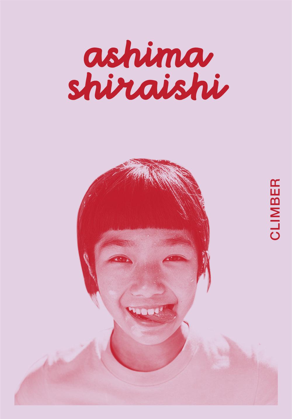 Ashima Shiraishi    @ASHIMASHIRAISHI   IG: ASHIMASHIRAISHI