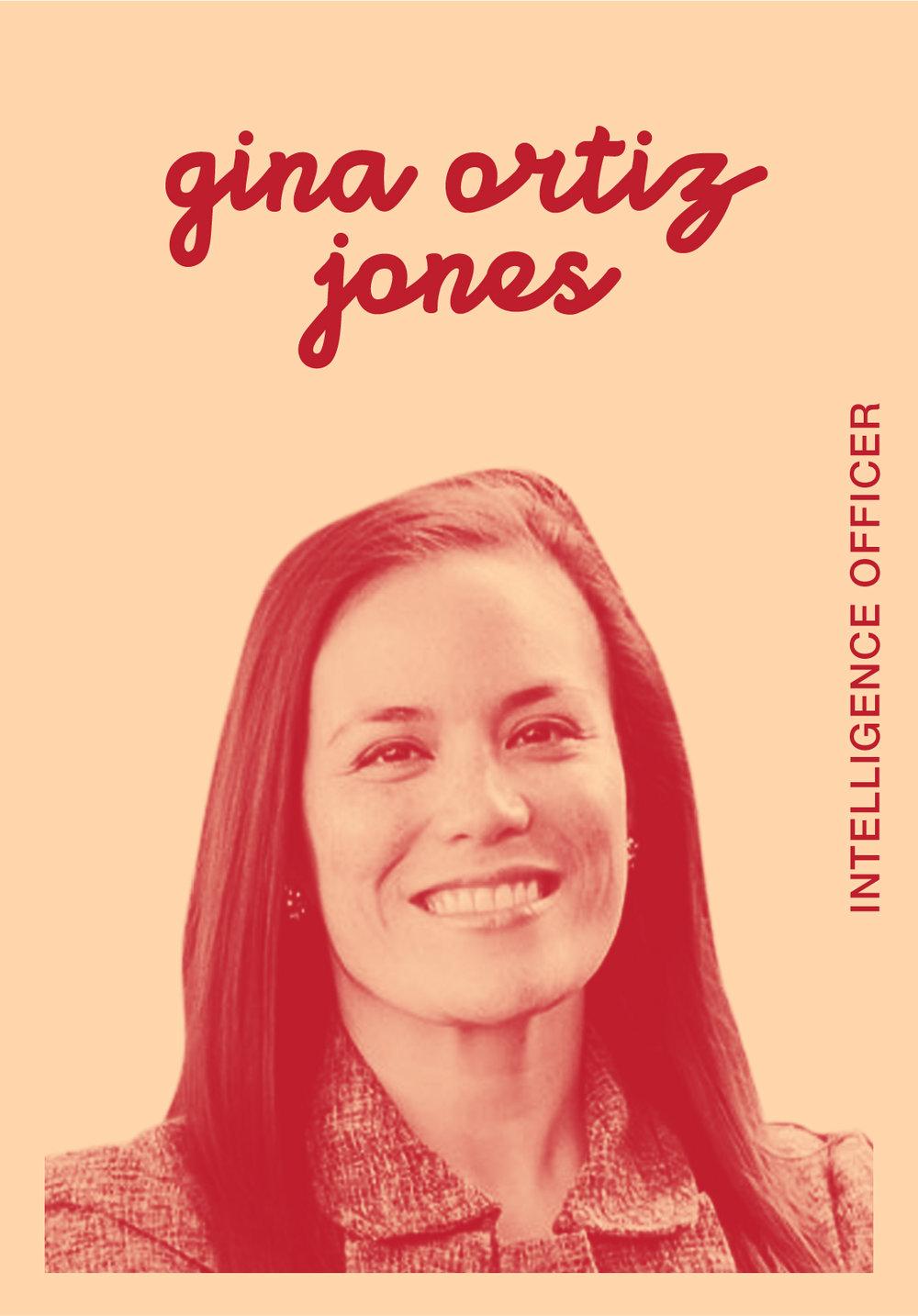 Gina Ortiz Jones   WEBSITE   @GINAORTIZJONES   IG: GINAORTIZJONESTX