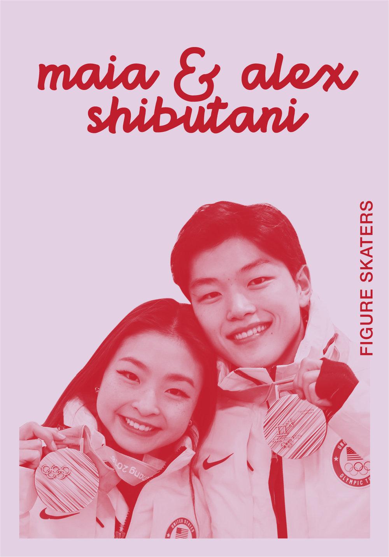 Maia & Alex Shibutani   TUMBLR     @SHIBSIBS   IG: SHIBSIBS