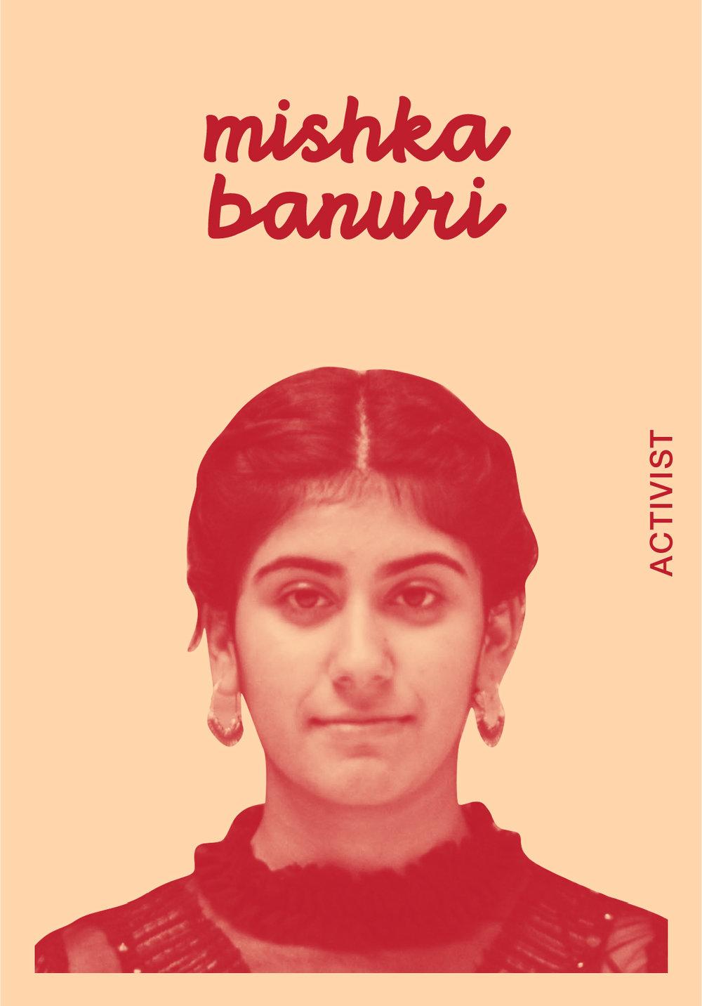 Mishka Banuri   @BRINT_E_BANURI   IG: MISHKYYYY