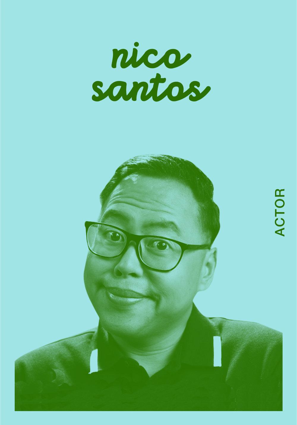 NICO SANTOS   @NICOSANTOS   IG: NICOSANTOS